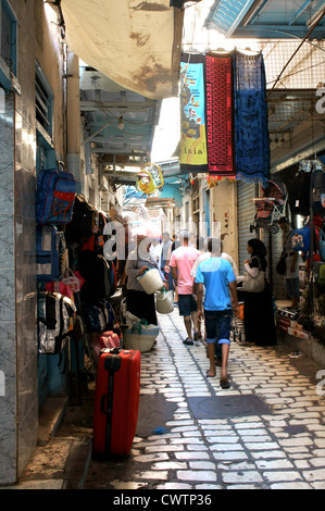 The medina in Sousse, Tunisia, North Africa - Stock Photo