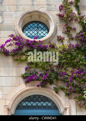 Architecture in Mdina, central Malta, Mediterranean Sea - Stock Photo