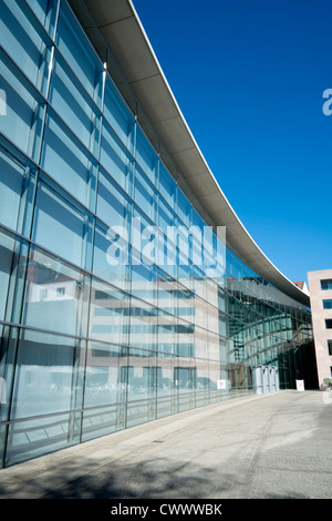 Neues Museum or New Museum of  modern art  in Nuremberg Germany - Stock Photo