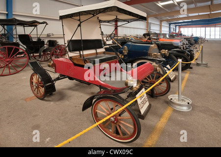1908 Oldsmobile at War Eagles Air Museum, Santa Teresa, New Mexico, USA - Stock Photo