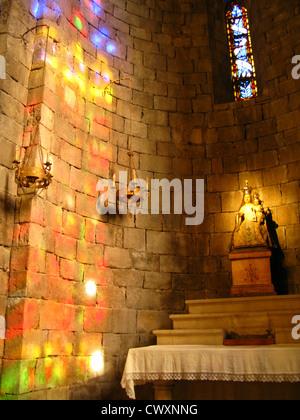 Altar in Monastery - Stock Photo