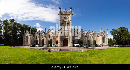 The Aberford Almshouses were built by sisters Mary and Elizabeth Gascoigne in 1844, - Stock Photo