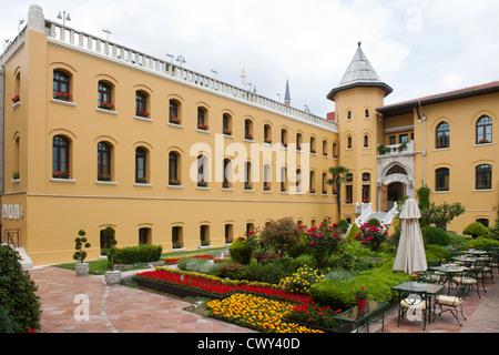 Türkei, Istanbul, Sultanahmet, Four Seasons Hotel Sultanahmet im Gebäude des ehemaligen Gefängnisses - Stock Photo