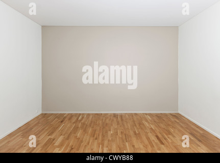 Empty room in a modern house - Stock Photo