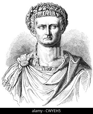 Portrait Head Of Roman Emperor Nero Circa Ad 59 64 Nero