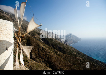 Olymbos, Karpathos, Dodecanes, Greece, Europe - Stock Photo