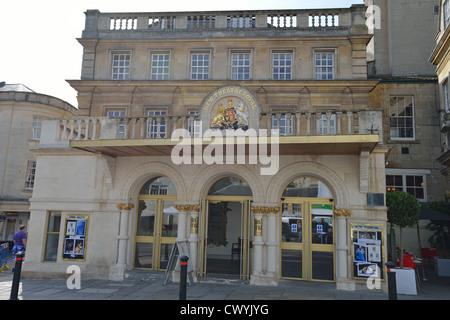 New Theatre Royal, Sawclose, Bath, Somerset, England, United Kingdom - Stock Photo