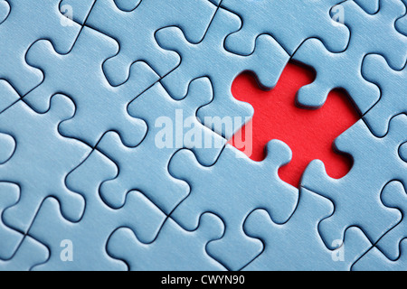 Last piece of the puzzle - Stock Photo