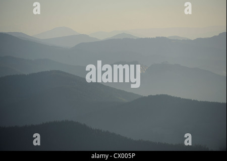 Alpine landscape, Styria, Austria - Stock Photo
