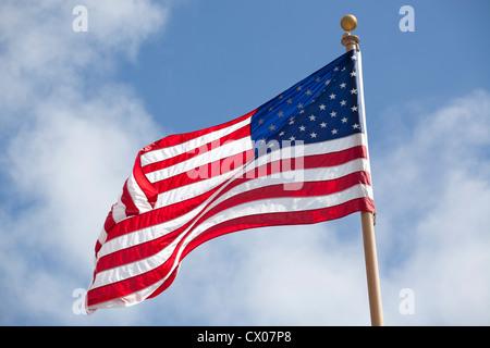 United States national flag - Stock Photo
