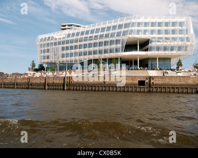 Unilever house,Hafencity,Hamburg,Germany - Stock Photo