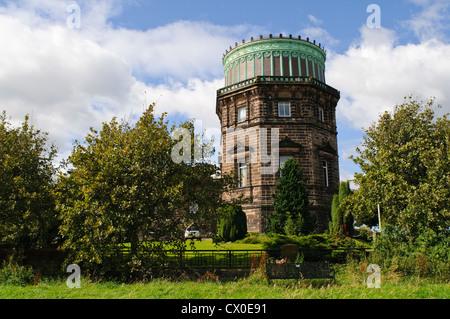 East Tower of the Royal Observatory, Blackford Hill, Edinburgh. - Stock Photo