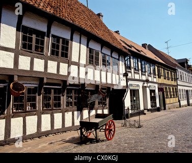 8163. Old Town, Odense, Funen, Denmark, Europe - Stock Photo