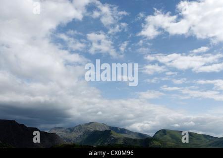 The Snowdon massif - Stock Photo