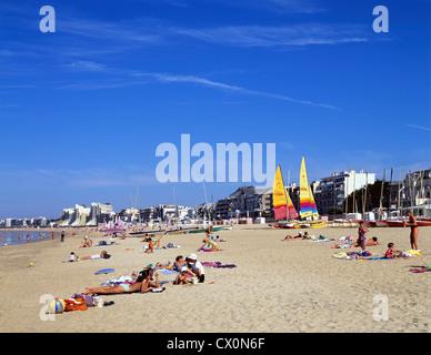 8221. La Baule, Loire Maritime, France, Europe - Stock Photo
