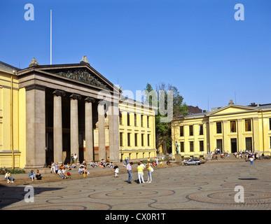 8280. University, Oslo, Norway, Europe - Stock Photo
