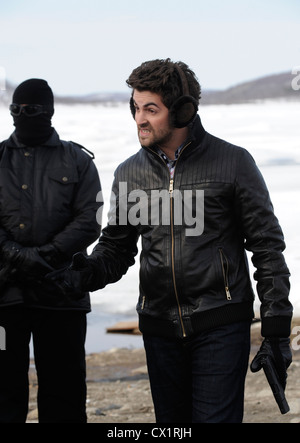 ITAR-TASS: MURMANSK REGION, RUSSIA. MAY 17, 2011. Bollywood actor Neil Nitin Mukesh on location for a new remake - Stock Photo