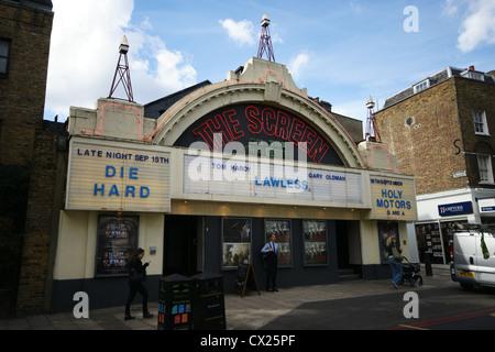 The Screen on the Green cinema in Islington, London - Stock Photo
