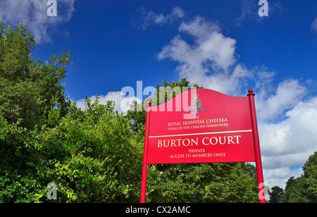 Burton's Court, Royal Hospital Road, Chelsea, London,United Kingdom - Stock Photo