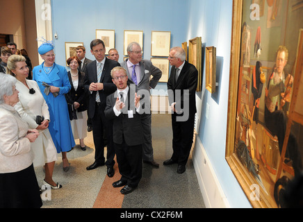 ITAR-TASS: MOSCOW, RUSSIA. SEPTEMBER 6, 2011. Pushkin State Museum director Irina Antonova, Russia's First Lady - Stock Photo