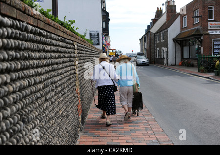 Village of Rottingdean just along the coast from Brighton on Sussex coast UK 2012 - Stock Photo