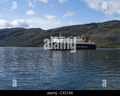 dh Loch Broom scotland ULLAPOOL ROSS CROMARTY Outer Herbrides ferry Isle of Lewis arriving calmac scottish island ferries