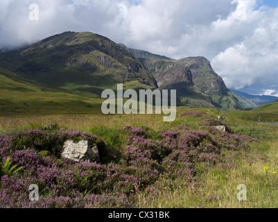 dh Three Sisters GLEN COE ARGYLL Scotland Glen Coe mountains Beinn Fhada Gearr Aonach Dubh scottish glencoe