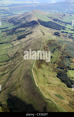 aerial view of The Pennines - Stock Photo