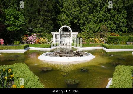 The Butchart Gardens, Vancouver Island, Canada-2 - Stock Photo