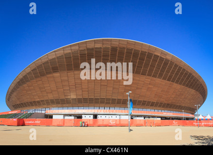 Velodrome after the end of the London 2012 Olympic and Paralympic games - Stock Photo