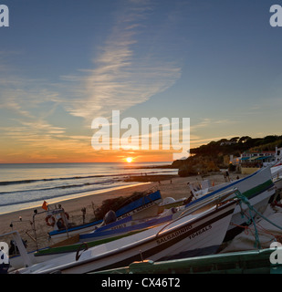 Portugal, the Algarve, Olhos d'Agua - Stock Photo