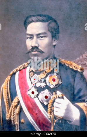 Emperor Meiji, Mutsuhito, Japan, circa 1904 - Stock Photo