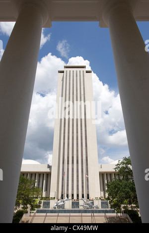 NEW STATE CAPITOL BUILDING TALLAHASSEE FLORIDA USA - Stock Photo