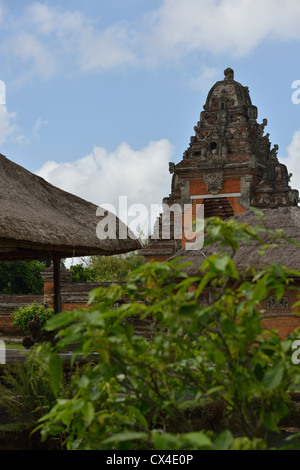 The entrance of the Pura Taman Ayun (Royal Temple) in the village of Mengwi; Bali, Indonesia. - Stock Photo