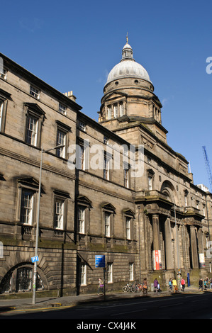 University of Edinburgh, Old College. - Stock Photo
