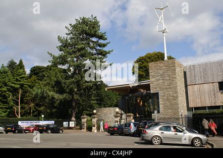 Royal Botanic Garden Edinburgh, John Hope Gateway, at the West Gate Entrance. - Stock Photo