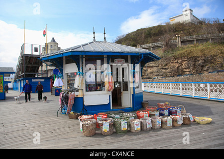 The Pier, Llandudno, North Wales, Wales, Conwy County, United Kingdom - Stock Photo