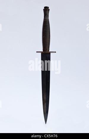 Commando Fairburn-Sykes dagger knife - Stock Photo
