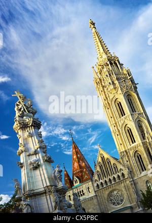 Matthias Church, Budapest,Hungary. - Stock Photo