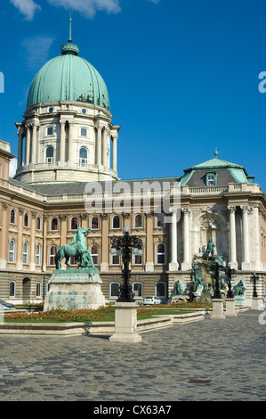 Elk190-1127v Hungary, Budapest, Buda, Castle Hill, Royal Palace, 18th c - Stock Photo