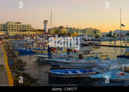 Marina, Cabo San Lucas, Baja, Mexico - Stock Photo