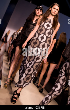 Simonetta Ravizza runway spring/summer 2013 milano fashion week september 2012 Stock Photo