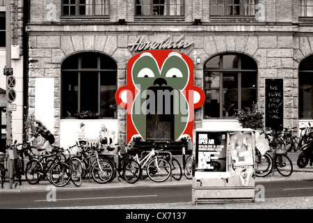 Bar Honolulu in Berlin - Stock Photo