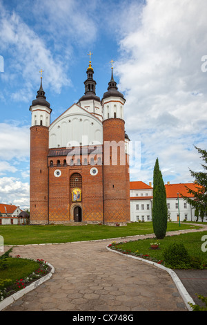 The Monastery of the Annunciation in Suprasl in North Eastern Poland. - Stock Photo