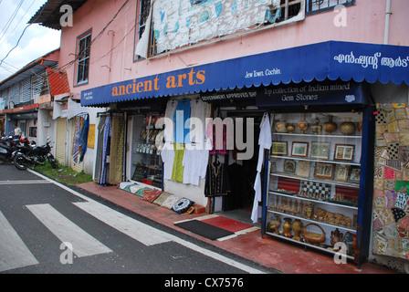 Jew Town, Cochin, India - Stock Photo