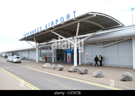 Inverness Airport - Stock Photo