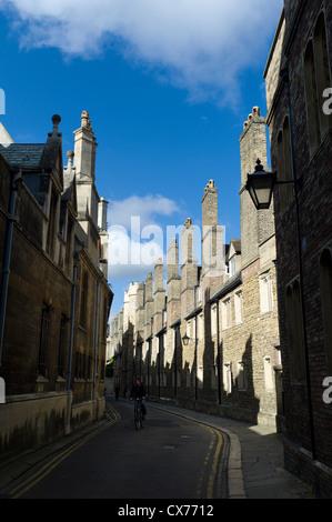 Trinity Lane, Trinity College, Cambridge - Stock Photo