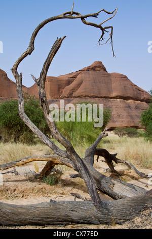 ennedi mountains chad - Stock Photo