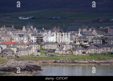 Lerwick Town Mainland, Shetland, UK LA005687 - Stock Photo