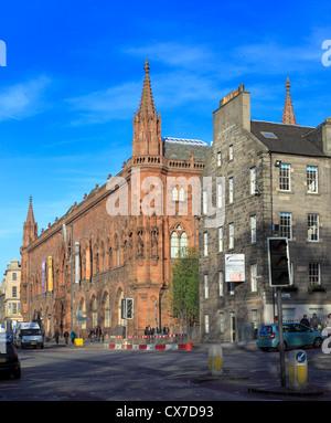 Scottish National Portrait Gallery, Queen Street, Edinburgh, Scotland, UK - Stock Photo